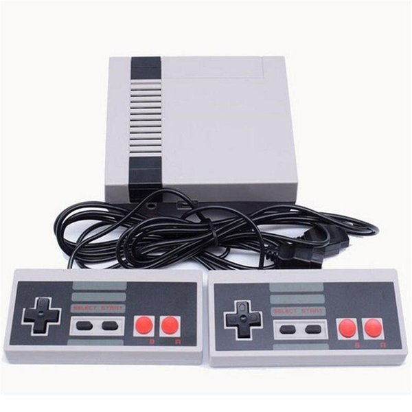 best selling New 620 500 Game Console Video Handheld for NES games consoles Mini TV can store Classic Video Game