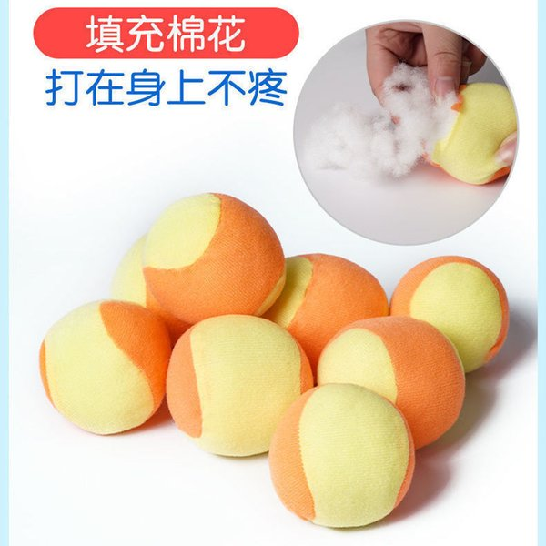 10 bolas suaves y pegajosas