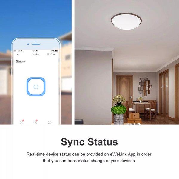 heap Smart Remote Control Itead SONOFF Basic R3 Wifi Smart Module Via e-Welink Remote Control Wifi Switch Domotica Light Controller Swit...