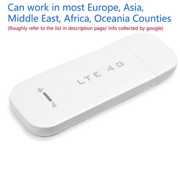best selling Unlocked 4G lte Usb Wireless Router Dongle FDD Mobile Modem For Windows Laptop Stick