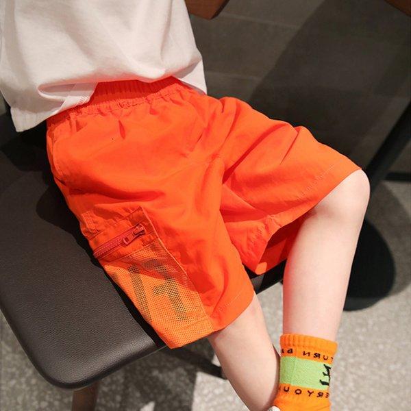 top popular Children's Shorts Summer 2021 New Loose Fitting Beach Pants 2021