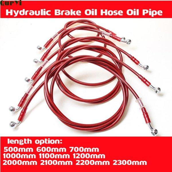 best selling Parts Universal Motorcycle Hydraulic Brake Line Oil Hose Tube For Dirt Pit Bike Motorcross Moped Scooter Cub ATV Quad UTV Go Kart