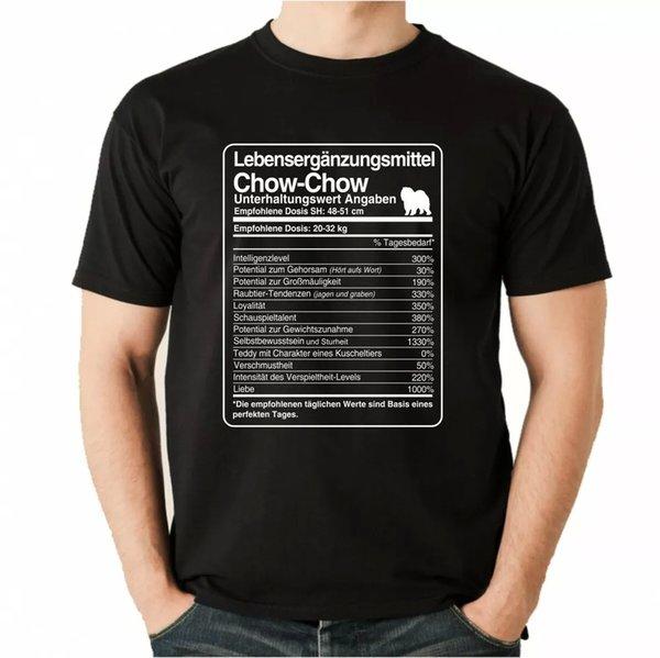 T-Shirt Unisex dose Chow Chow Life Supplements by siviwonder Men Dog