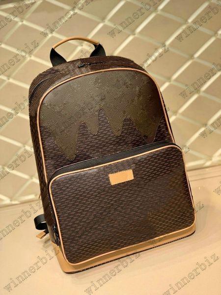 best selling Mens Campus Backpack bag Womens Nigo VIRGIL NIL Wallet Briefcase Handbag Travel Leather Luggage Business Totes N40380