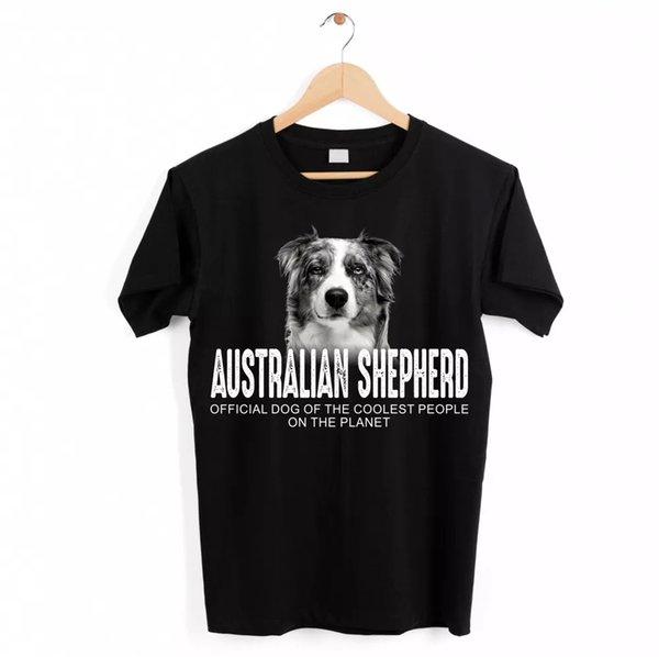 Australian Shepherd Blue Merle Aussie Dog Unisex Shirt Official Dog Cool People