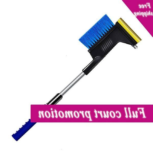best selling 3-in-1 Multi-function Long Handle Ice Scraper Shovel Brush Winter Window Windscreen Snow Removal Car Care CCD3482
