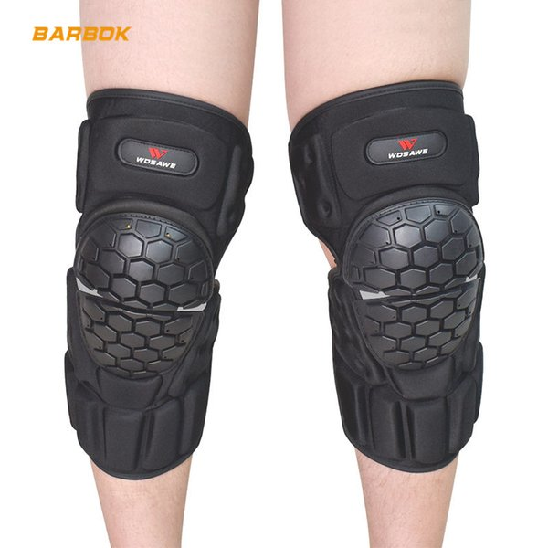 top popular WOSAWE Motorcycle Knee Pads Protector Reflective Snowboard Roller Riding Brace Guard Hockey Protective Gear Motocross Kneepad 2021