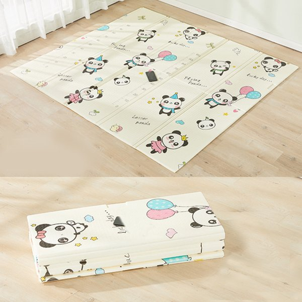 best selling 200cm*180cm Kids Rug XPE Baby Play Mat For Children Soft Floor Kids Carpet Living Room Puzzle Developing Crawling Pad Toys