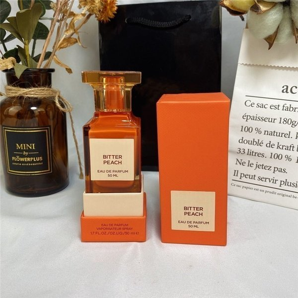 best selling In Stock 50ml women perfume BITTER PEACH eau de parfum high quality Attractive fragrance limited edition free Fast Delivery