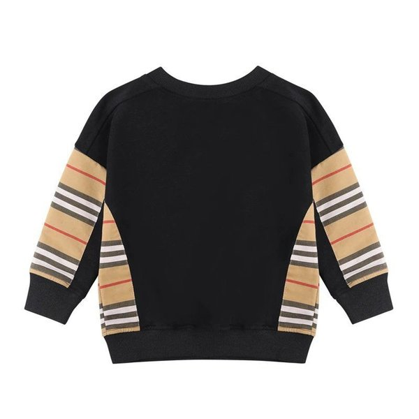 top popular Spring Autumn Baby Boys Girls Pullover Kids Long Sleeve Striped Sweaters Children Casual Sweatshirt 2021