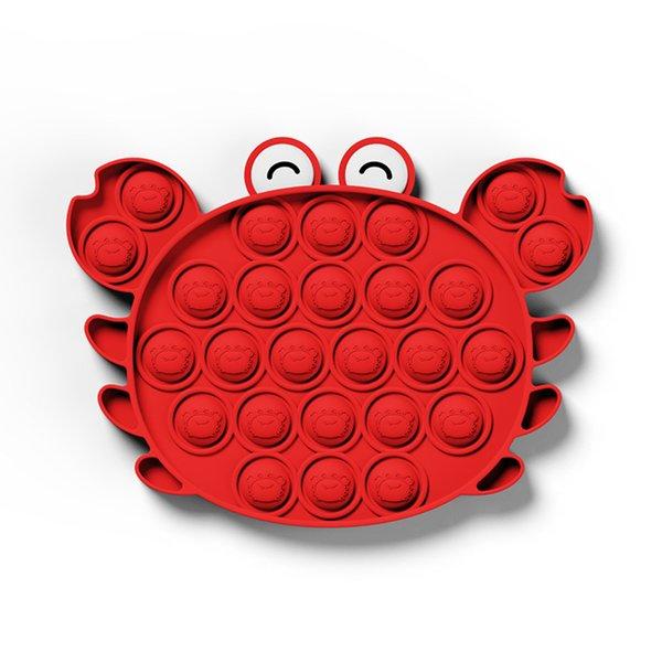 Push Pop Toy Sensory Round Fidget Toy Stress Reliever Toys Push Bubble Toy Stress Reliever Push Pop Bubble