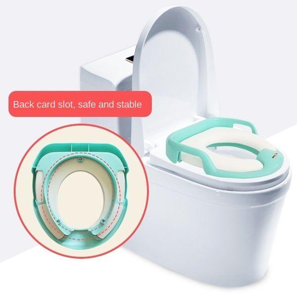 best selling British baby deer Children's toilet seat portable ring baby toilet pad baby