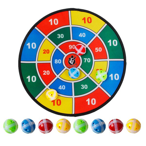 best selling Safety Dart Board with 8 Balls Sports Toys Set Children Indoor Outdoor Sport Toy Social Parent-Child Party Game for Kids