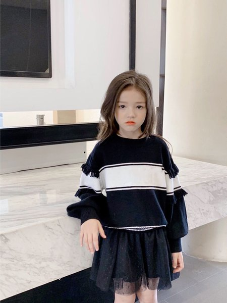 best selling high quality autumn spring girl pullover winter girls sweaters toddler knitting pullovers top baby style cardigans warm kids jumper