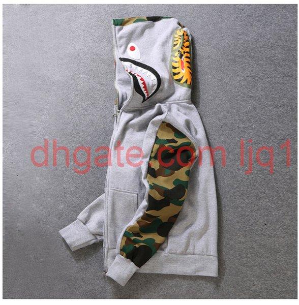 top popular Mens women Sportwear Coat Jogger Tracksuit Pullover Fleece Sweatshirt Crewneck Bird OVO Drake Black Hip Hop stusay Hoodie Men Shark mouth 2021