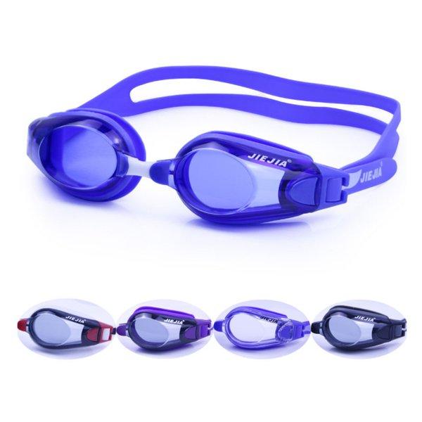 top popular JIEJIA Swimming Glasses Men Women Professional UV Protect waterproof Anti Fog Adult Swimming Pool Goggles Natacion Swim Eyewear 2021