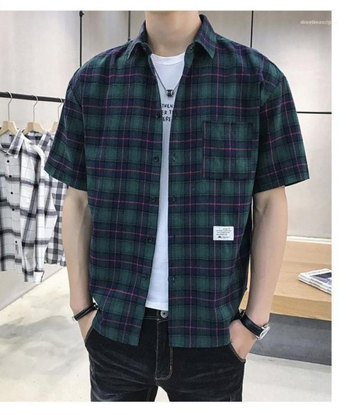 Summer Mens Shirts New Cotton Comfortable Breathable Mens Clothing Plaid Short Sleeve Mens Shirts Casual Fashion Fashion Mens Clothing Women Clothing Mens Jeans Pants Hoodies Hiphop ,Women Dress ,Suits Tracksuits,Ladies Tracksuits Welcome to our Store