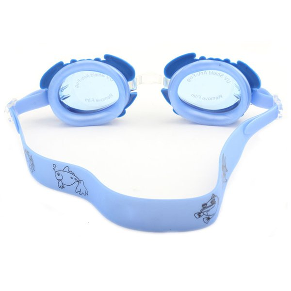 best selling Swimming Goggles Children Waterproof kids Crab Cartoon Arena Natacion Anti Fog Swim Eyewear Professional Swimming Glasses