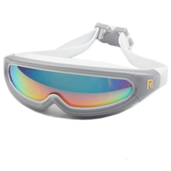 top popular Adult Swimming Glasses Waterproof Anti-Fog UV Men Women Sports Swim Eyewear Water Goggles Silicone Swimming Goggles 2021