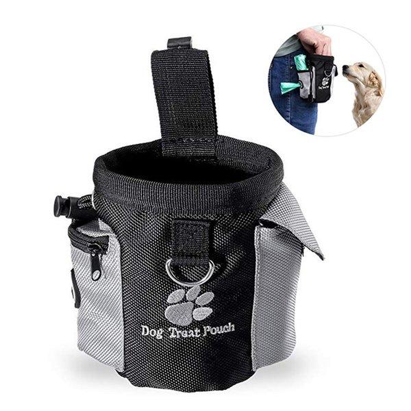 Pet Dog Food Treat Snack Bag Walking Carries Pet Toys Poop Bag Pet Hands Free Training Waist Bag Outdoor For Dog Supplies