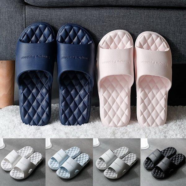Fashion Lovers Beach Slides Massage Flip Flops Non-slip Slippers High Quality EVA Summer Men Ladies Women Slippers Indoor