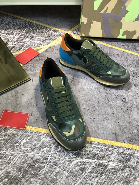 Top Quality Men Women Luxurys Designers Shoes Casual Leather Sneaker Embroidery Classic Trainers 35-46