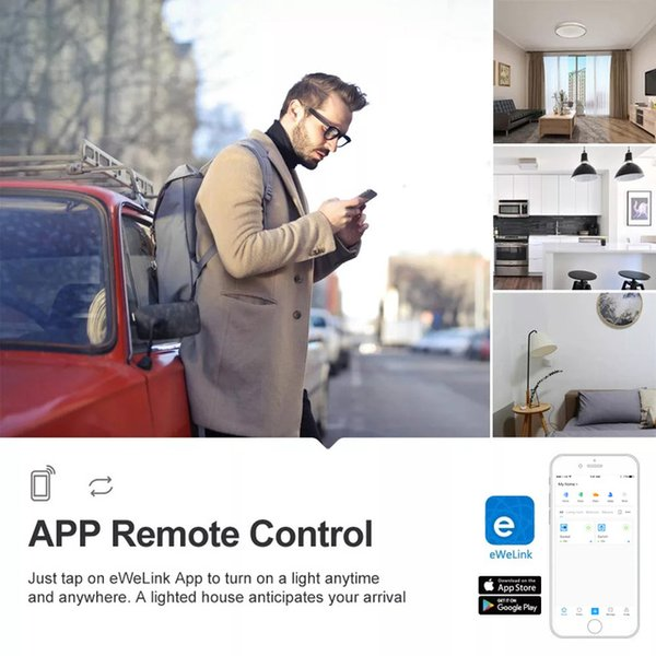 Cheap Smart Remote Control Itead SONOFF Basic R2 Mini DIY Module Wifi Light Switch Wireless APP Remote Control Switch 220V Smart