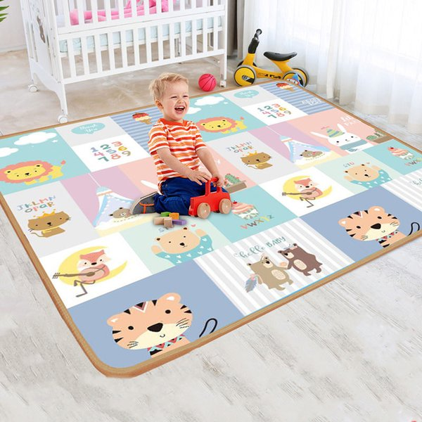 best selling Baby Play Mat Puzzle Rug Educational Children's Carpet in the Nursery Climbing Pad Kids Rug Activitys Games Toys