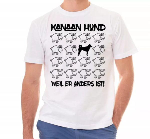 Canaan Dog Unisex T-Shirt Black Sheep Men Dog Dog Motif