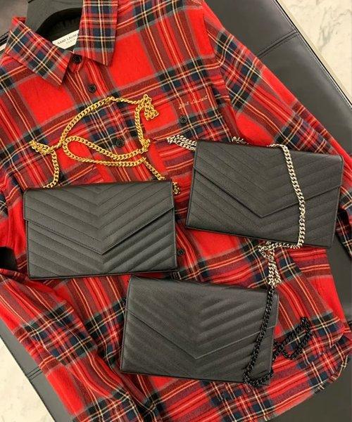 best selling 2021 Genuine Leather Women Bag High Quality Original Box Messenger Shoulder Handbag Purse Cross Body Chain Clutch Bags
