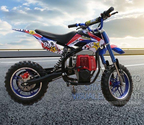 top popular 49cc mini ATV off-road vehicle Apollo mountain bike small motorcycle 4-stroke engine 2021