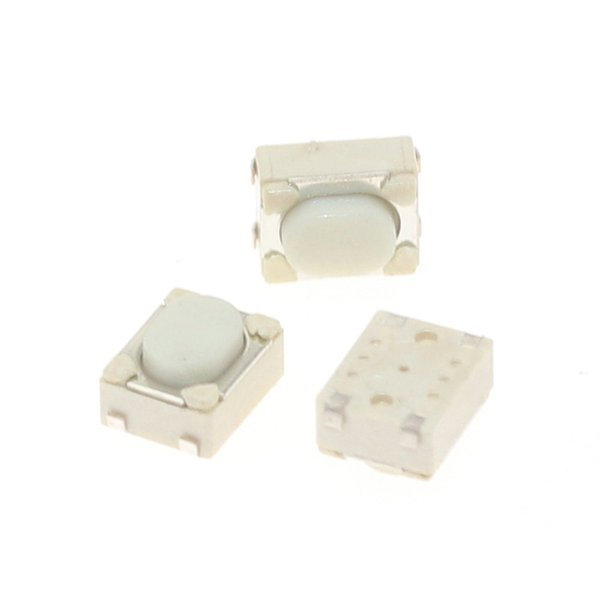 Lights & Lighting 3.2*4.2*2.5 Bent Foot/SMT 12V 0.05A Push Button Switch Metal Tactile Micro Tact Touch Switch Reed Interruptor Pulsador