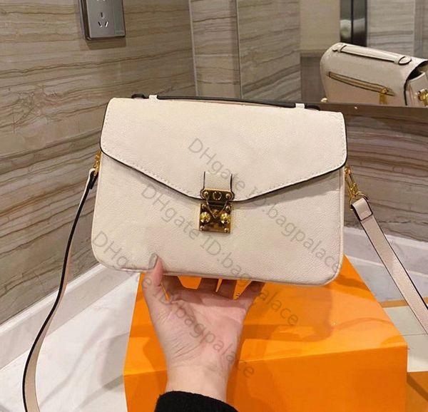 best selling High Quality 2021 Messenger Bags Black Pink Luxurys Designers Shoulder Handbag Ladies Women Totes Fashion 25cm Handbags Printed Cross body Clutch Bag Purse Wallet