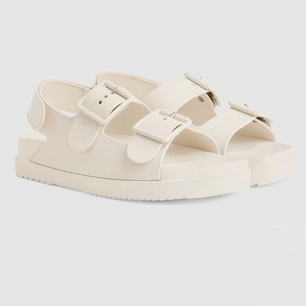 luxury sandals men and women brand sandal designer men's shoes brands women's shoe Velcro flat sandal with box