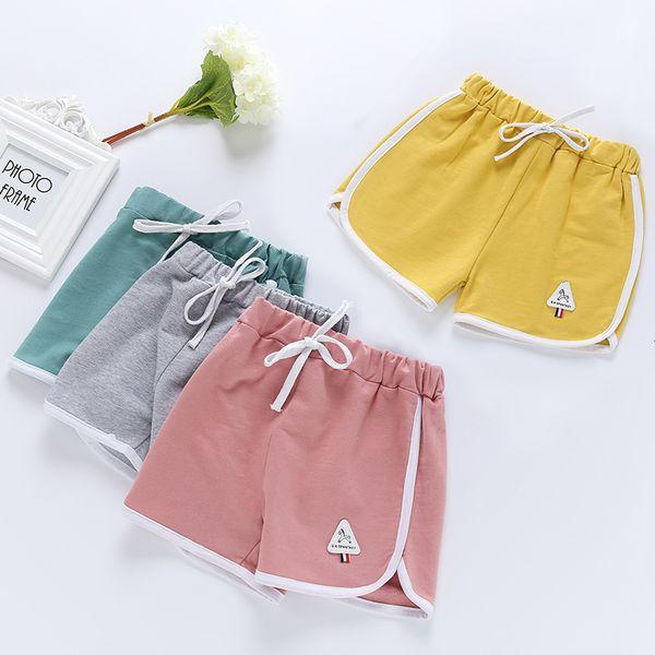 top popular 2021 New Shorts Summer Leisure Beach Pure Cotton Girl's Children's Wear Sports Pants 2021