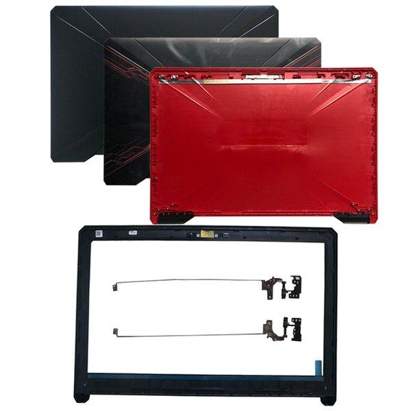 Computerbüro Neue Laptop-Abdeckung für Asus 80 80g 80GD 504 504g 504GD FX504GE LCD-Top-Back-Abdeckung / LCD-Front-Lünette / Scharniere