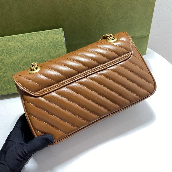 Womens Handbags Purses clutch pochette shoulder bags cross body bag Felicie Genuine Leather Cover Chains handbag Women purse serial number Original box GB85