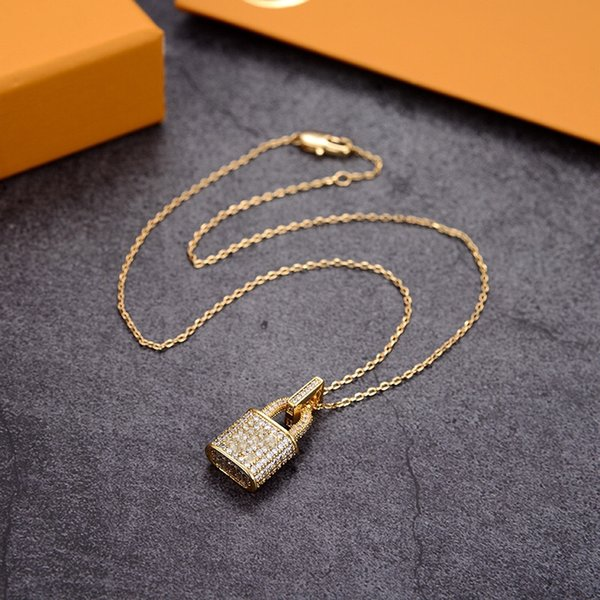 best selling Luxury Pendant Necklaces Fashion for Man Woman Highly Quality Women Party Wedding Lovers gift hip hop jewelry