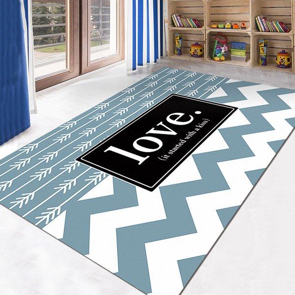 Eovna area rug Living Room Carpet New Bedside Childrens Carpet Balcony Bedroom Carpet Mats Can Be Customized Rug