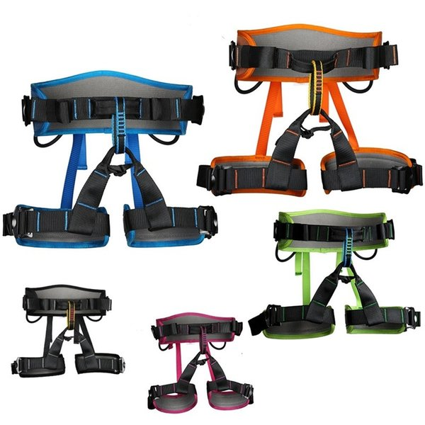 best selling Rock Climbing Harness Aerial Work Safety Belt Speed Drop Outdoor Protect Safety Wear Resistant Fall Prevention 119xdf1