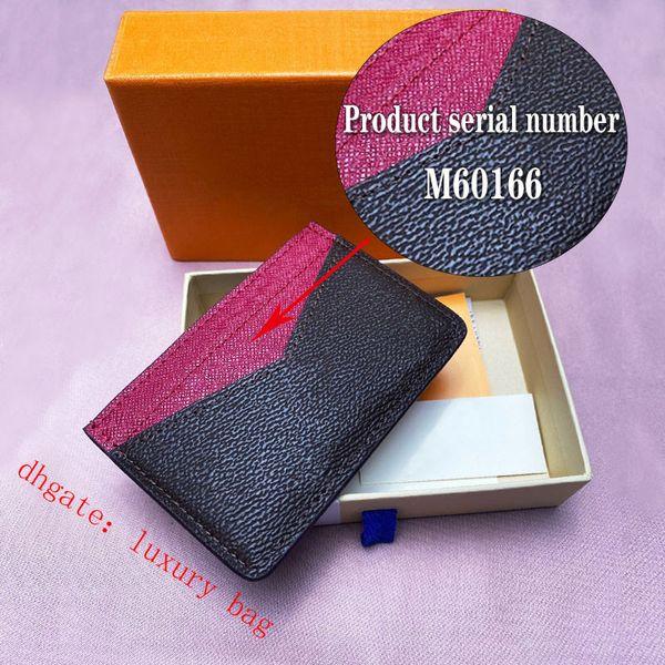 top popular Women Luxury Designer Fashion Card Holders Mini Classic Brand Purse Casual credit business Wallets Genuine Leather Crossbody handbag Caviar Texture bag 2021