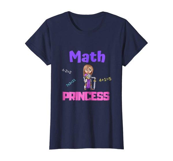 Empowering Math Princess T-Shirt
