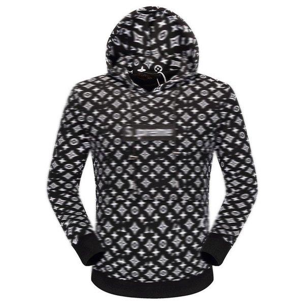 2021 New Men Women Hooded Sweatshirts Designer Zipper Windbreaker High Street Print Hoodies Pullover autumn Winter Sweatshirts mens jacket