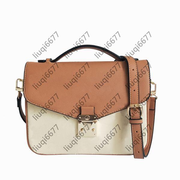 top popular Top Quality Classic Crossbody purses Women Shoulder Bags Handbag Ladies Messenger Bag Paris Printing print Empreinte Old Flower Tote Handbags 7 colors 2021