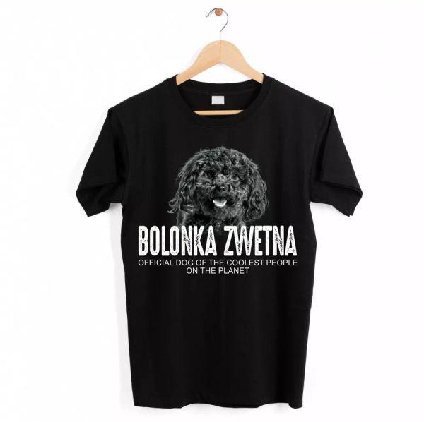 Bolonka Zwetna Dog Unisex Shirt Official Dog Cool People Funny Dog Motif T-Shi