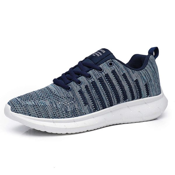 Men's summer breathable leisure mesh 2020 new lightweight and versatile large size sports shoes men's sneaker