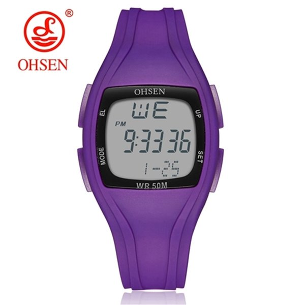 Reloj púrpura