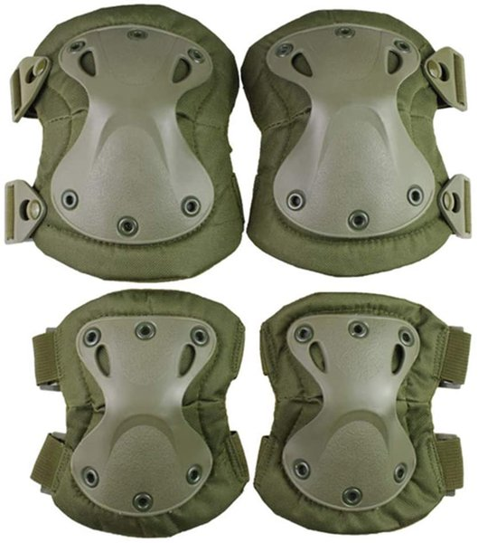 top popular Protective Gear Professional tactical combat knee and elbow pad sets 2021