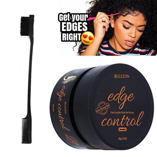 Pomades & Waxes Edge Control improve messy Styling Gel Hair Oil Wax Cream Curls Control Long-lasting Broken Hair