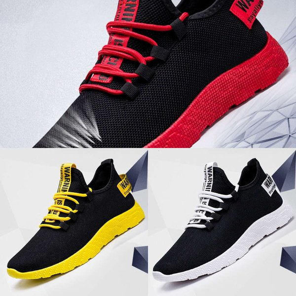 Casual shoes Men's shoes 2021 spring and summer new Korean men's sports fashion leisure Casual breathable woven GLFK YWA3